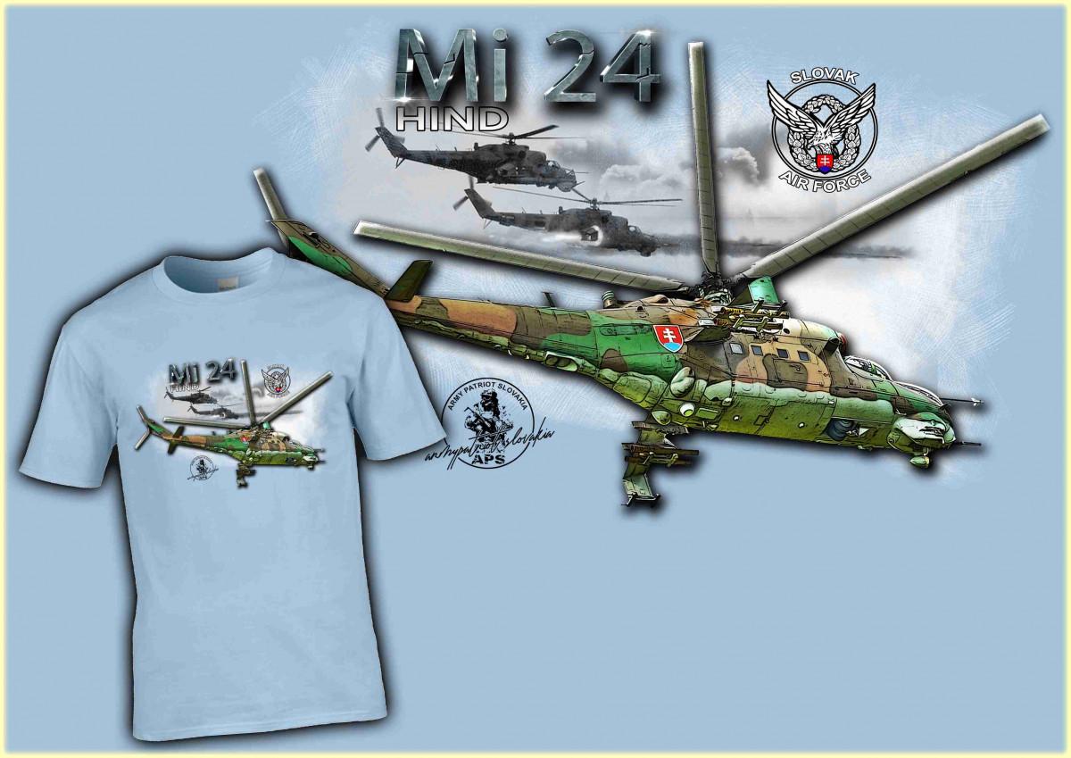 Hind Mi-24 bledo modrá LE010