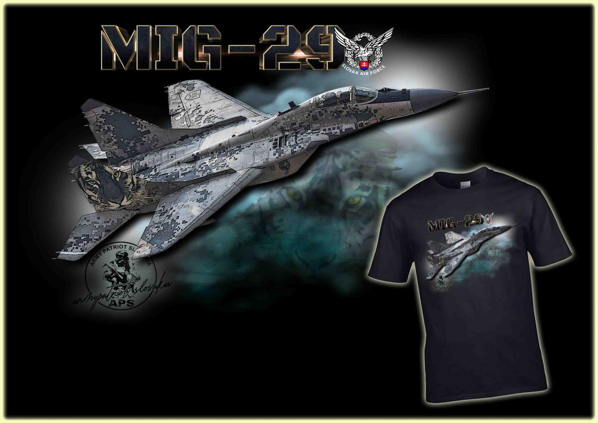 Mig-29 čierna LE 004