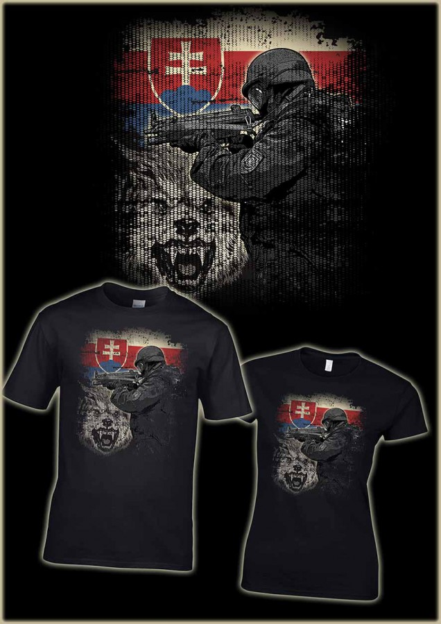 Special Units 2 APS 022 tričko
