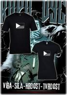Olivie 003 tričko vlajka čr