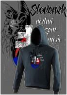 Slovensko-rodná zem mikina unisex nk 039