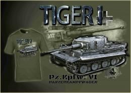 Tiger I zelená LE 007